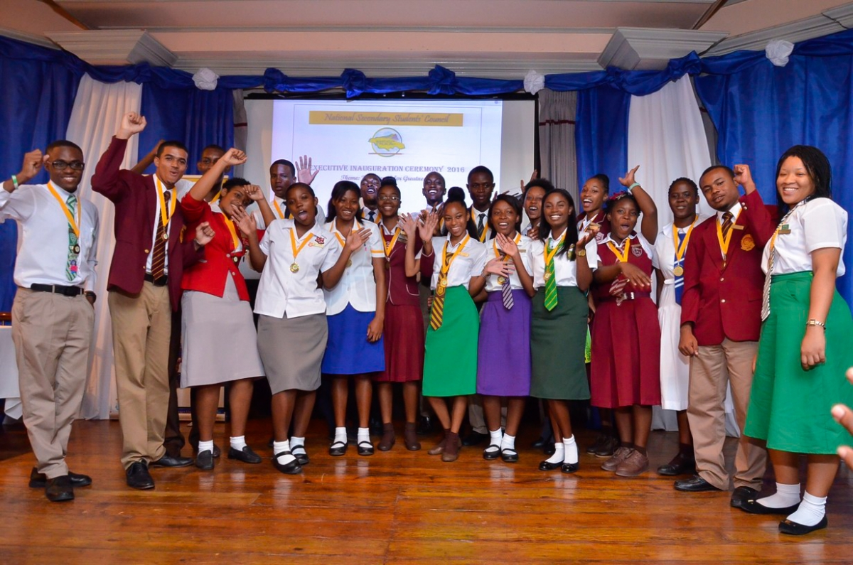 National Secondary Students Council Executive Body 2016 2017