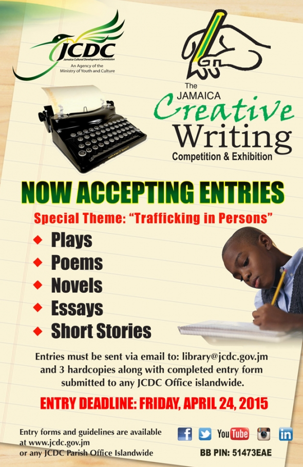 Creative writing essay competitions